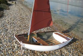 8ft Pram Two-piece Nesting Dinghy
